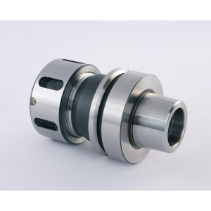 HSK63F x SYOZ25 - 80 TOOLHOLDER FOR ANDERSON & OMNITECH CNC MACHINES (38MM WRENCH FLATS)